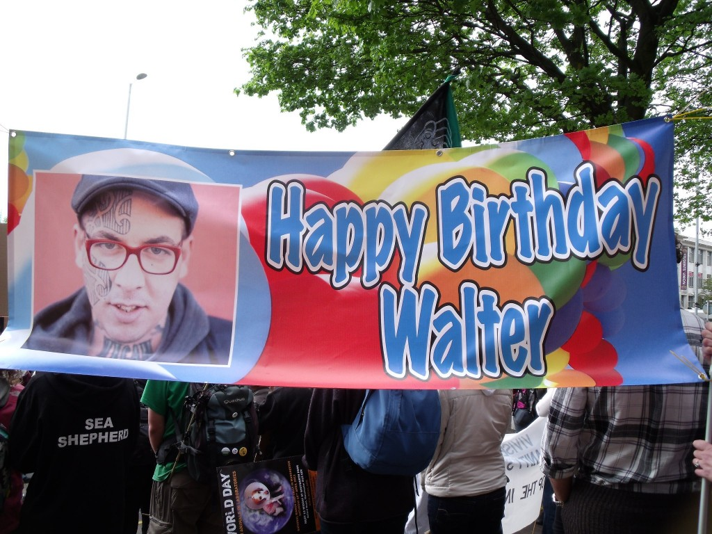 UK supporters birthday banner